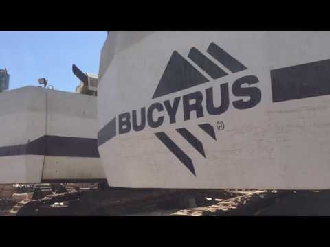 BUCYRUS-ERIE MINING SHOVEL / EXCAVATOR RH40E equipment video GanEKGxVXow