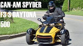 4. Can-Am Spyder F3-S Daytona 500 2017 - Bilan d'essai