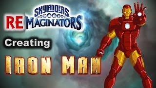 Skylanders RE-maginators - Creating Marvel's IRON MAN in Skylanders Imaginators The THIRD video in a new series... Skylanders RE-MAGINATORS! Where I