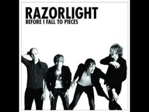 Tekst piosenki Razorlight - Fall to pieces po polsku
