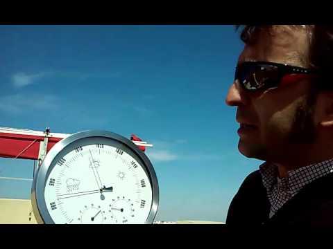 El barómetro: funcionamiento general y puesta en estación.