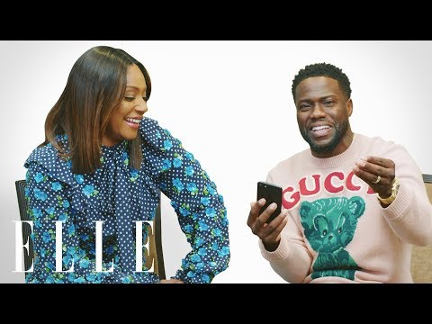 Kevin Hart and Tiffany Haddish Insta-Stalk Each Other's Funniest Posts | Insta-Stalk | ELLE