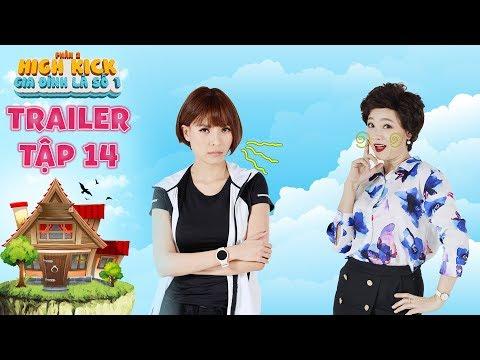 Gia đình là số 1 Phần 2   trailer tập 14: Thuý Diễm ngán ngẩm với độ teen quá đà của NSUT Mỹ Duyên - Thời lượng: 45 giây.