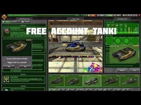 Tanki online FREE XT account 2018