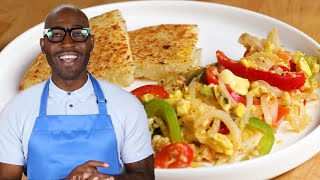 Ackee And Saltfish With Bammy As Made By Karamo And Jason Brown by Tasty