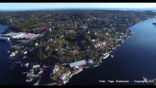 Arendal Norway  city photos : DJI PHANTOM 3P CRUSING ARENDAL NORWAY 19 10 15 PUSNES TROMMØYSUNDET no2