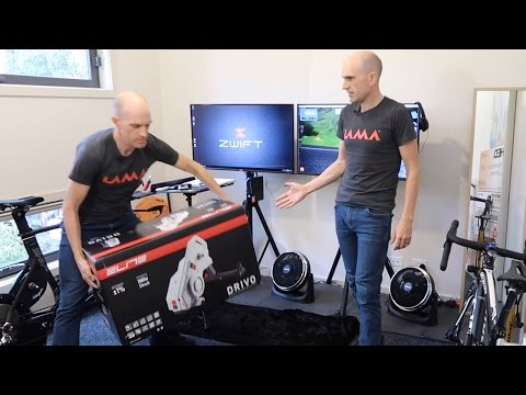 ELITE DRIVO SMART TRAINER: Unboxing. Building. First Ride.