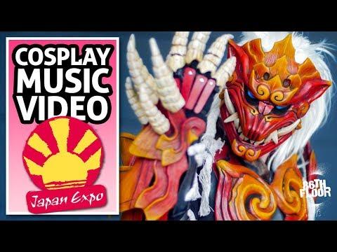 Japan Expo Paris 2018 Cosplay Music Video