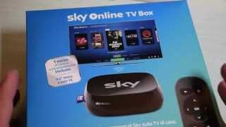 Video: Sky Online TV Box: unboxing, collegamento e prime  ...