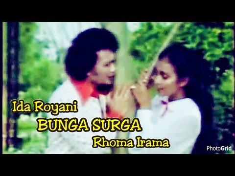 "Bunga Surga - Rhoma Irama Ft. Ida Royani - Original Video Clip Of Film ""Raja Dangdut"" - Th 1979"