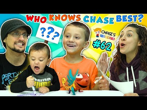 Chase's Corner: WHO KNOWS FGTEEV CHASE BEST? #62 | DOH MUCH FUN