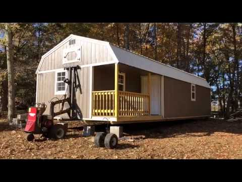 16x40 Portable Shed Delivery (Portable Cabin)