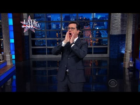 Watch Stephen Colbert Take a Moment to Congratulate Russia on Winning the Cold War