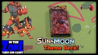 EARLY SUN AND MOON CARDS! Incineroar Theme Deck! by Master Jigglypuff and Friends