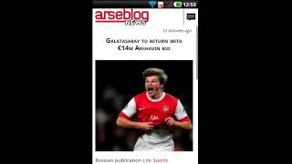 Arseblog (Official) YouTube video