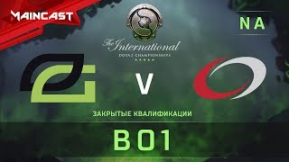 OpTic Gaming vs compLexity, The International 2018, Закрытые квалификации | Северная Америка