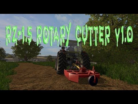 RZ-1.5 Rotary Cutter v1.0