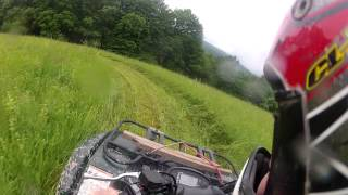 5. GoProHD Hero2- Yamaha Grizzly 500  Riding