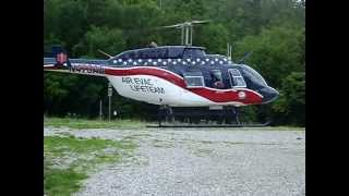 Barbourville (KY) United States  city photos gallery : Air Evac Helicopter Landing Zone at Bailey Switch Fire Dept, Barbourville Ky