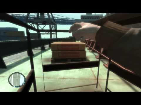 GTA 4 Mirror's Edge Mod Gameplay (видео)