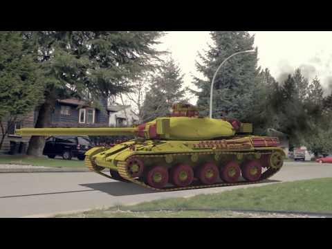Nerf TANK - Extreme Warfare!