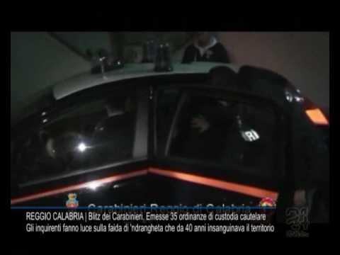 Blitz dei Carabinieri, emesse 35 ordinanze di custodia