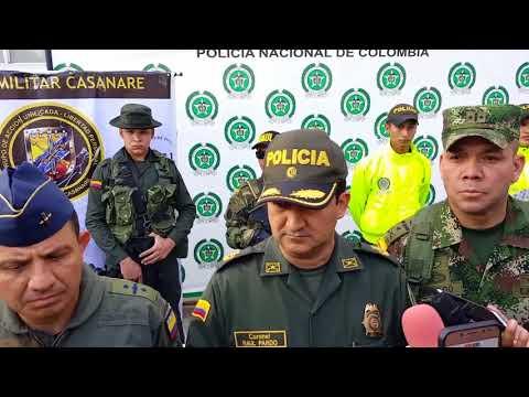 En una finca de Sácama capturaron a un hombre que señalan de ser apoyo de la guerrilla del ELN.