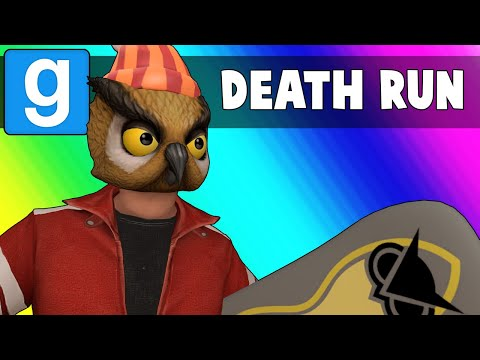 Gmod Death Run Funny Moments - The Vanoss Winter Olympics 2018! (Garry's Mod) (видео)