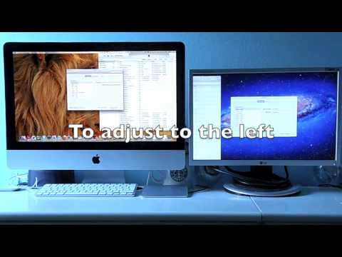 How to add a second screen on your iMac 2011 onwards