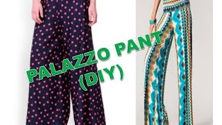 Video How To Make Palazzo pant ( DIY ) Part 1 MP3, 3GP, MP4, WEBM, AVI, FLV September 2018