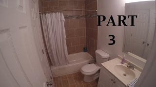 DIY | HOW TO REMODEL A SMALL BATHROOM | THE HANDYMAN | PART3 FINISHED