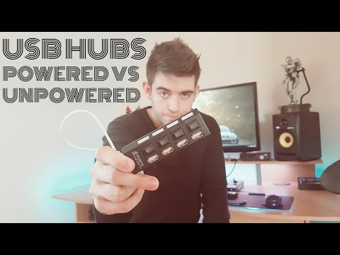 USB hub not working? Powered Vs Unpowered