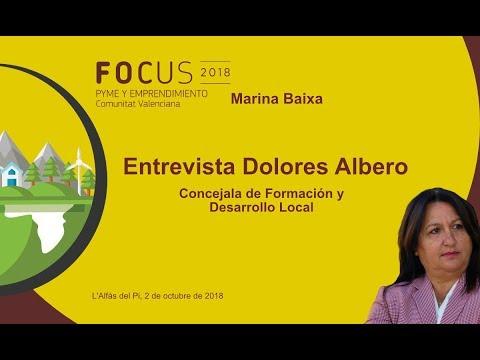 Dolores Albero, concejala de desarrollo de l'Alfàs del Pi en Focus Pyme Marina Baixa[;;;][;;;]