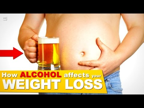 How Alcohol Affects the Liver & Body to limit your Weight Loss! (+STOPS FAT LOSS!)