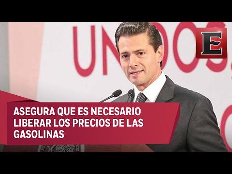 Peña Nieto se reúne con periodistas por gasolinazo