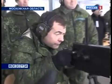 Медведев Палит По Копам с ПулеметаСмотреть Всем!!!