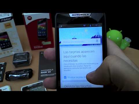motorola - Unboxing y Hands-On del nuevo integrante de la familia RAZR de Motorola. Les presentamos el nuevo Motorola RAZR D1 XT914, exclusivo de Telcel en Mxico. El c...