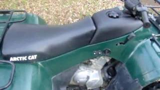 10. 2001 Arctic Cat engine noise