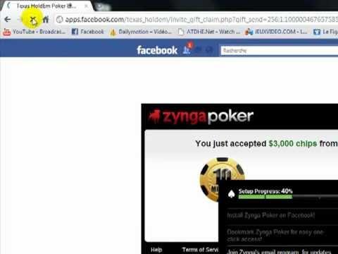 comment gagner des chips sur zynga poker