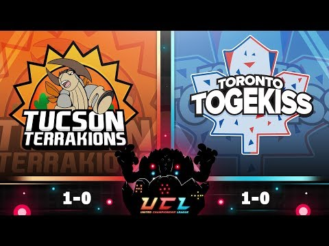 Pokémon USUM LIVE Wi-Fi Battle [UCL S3W2] Tucson Terrakions vs Toronto Togekiss