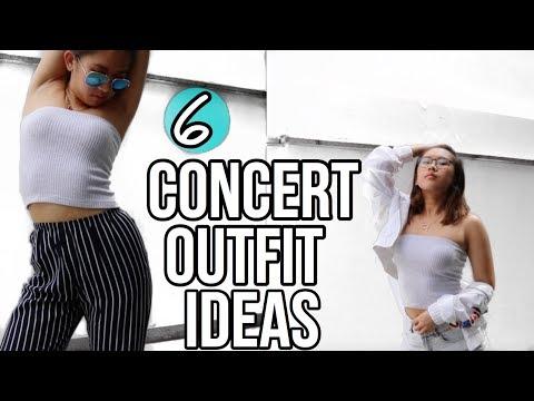 Concert Outfit Ideas!