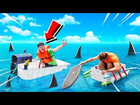 FASTEST BOAT WINS $10,000! BOAT BUILD CHALLENGE