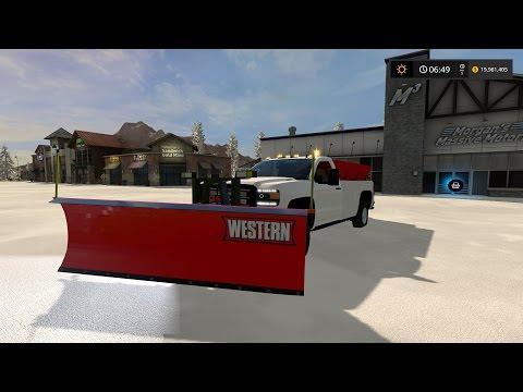 2016 GMC Sierra 3500HD Plow Truck v1