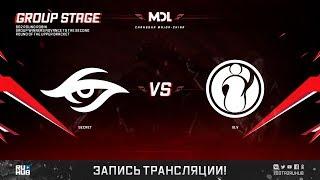 Secret vs IG.V, MDL Changsha Major, game 2 [GodHunt]