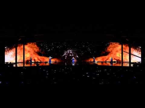 Ignited - Projection Dance Performance by Wildfire Entertainment