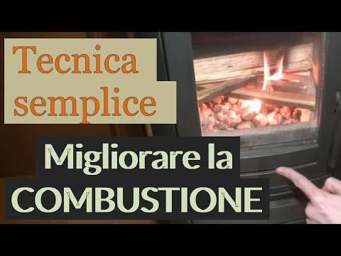 Migliorare combustione e resa della stufa a legna (1/2 - Pietra Lavica)