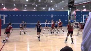 Madi Loebel, IRCS Golden Eagle Volleyball Senior