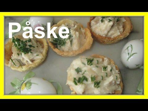 Påske – Kylling og asparges i tarteletter – Chicken and White Asparagus Tarlet – Danish Easter