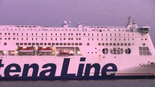 Harwich United Kingdom  city photos : Super Ferry STENA BRITANNICA inbound into Harwich, UK (June 25, 2015)