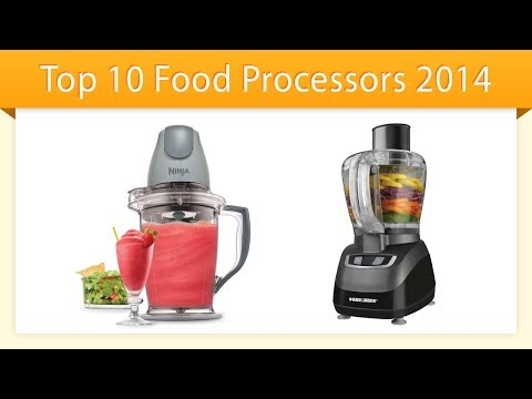 Top 10 Food Processors 2014 | Compare